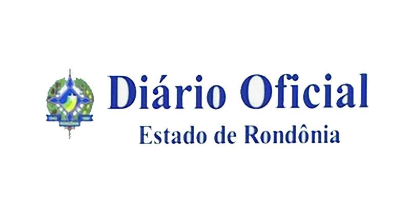 Diário Oficial de Rondônia