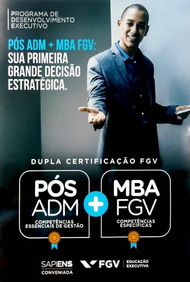 ASSFAPOM FIRMA CONVÊNIO COM A FGV