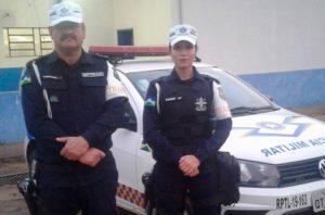 Policiais militares do Batalhão de Trânsito salvam criança que teve parada respiratória