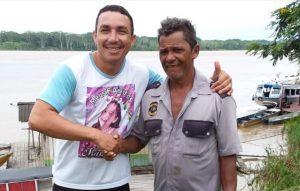 Cabo da PM salva ribeirinho de  naufrágio no Rio Madeira