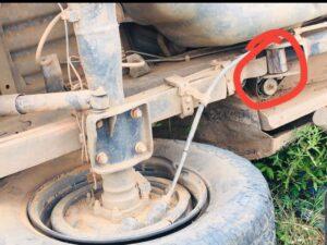 Denúncia: Viatura sem manutenção capota após quebrar feixe de mola