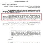 CURSO DE SARGENTO DO BOMBEIRO É SUSPENSO POR ORDEM DO SECRETÁRIO DA SESDEC