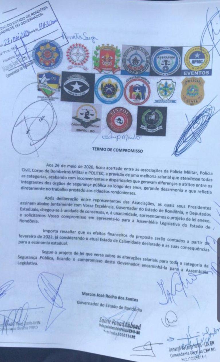 Assembleia Legislativa recebe pedido de equiparação salarial das Polícias Civil, Militar, Bombeiros e Politec