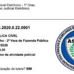 ASSFAPOM PROTOCOLA AÇÃO JUDICIAL QUE VISA SUSPENDER A CONFECÇÃO DO TCO PELA POLÍCIA MILITAR DE RONDÔNIA