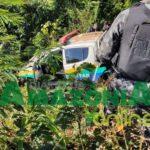 RONDÔNIA – Policiais militares ficam feridos em grave acidente com viatura na BR-364