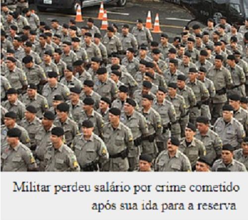 Militar da reserva não pode ser expulso por crime após aposentadoria