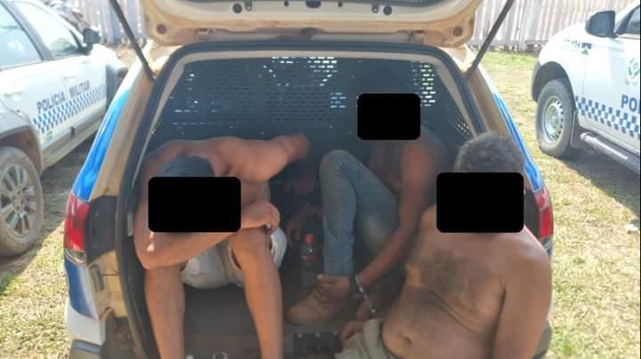 Prisões e apreensões – PMRO executa ações policiais de caráter por determinação de decisão judicial