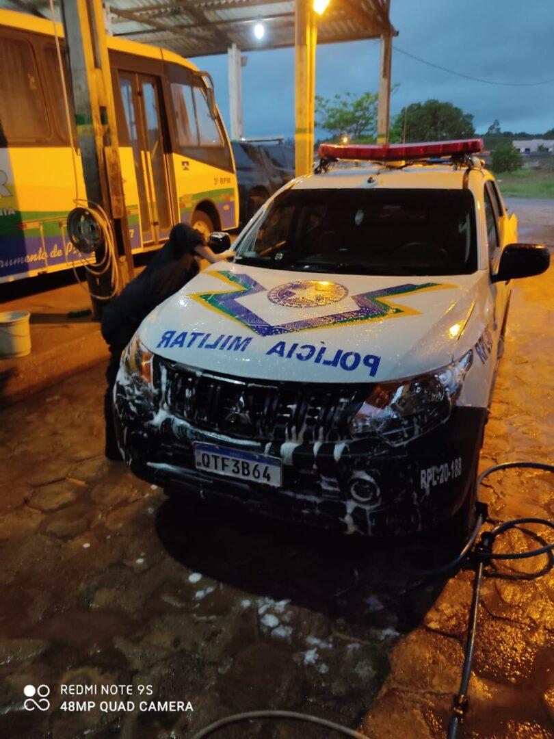 Denúncia: Policiais Militares de Vilhena estão sendo obrigados a lavarem viaturas sem equipamentos de proteção individual