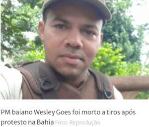 """""""Não entrei na PM para prender pai de família"""", disse soldado Wesley"""