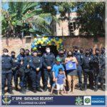 PMRO-5º Batalhão presta homenagem ao 1° Sargento PM Da Silva em reconhecimento ao serviço policial militar prestado
